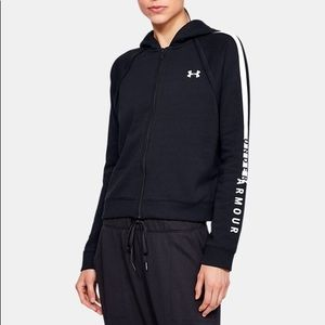 NWT Under Armour Rival Fleece Full Zip Hoodie